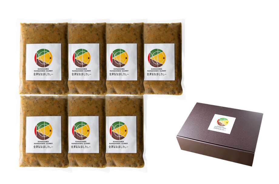 商品パック豆カレー7個セット