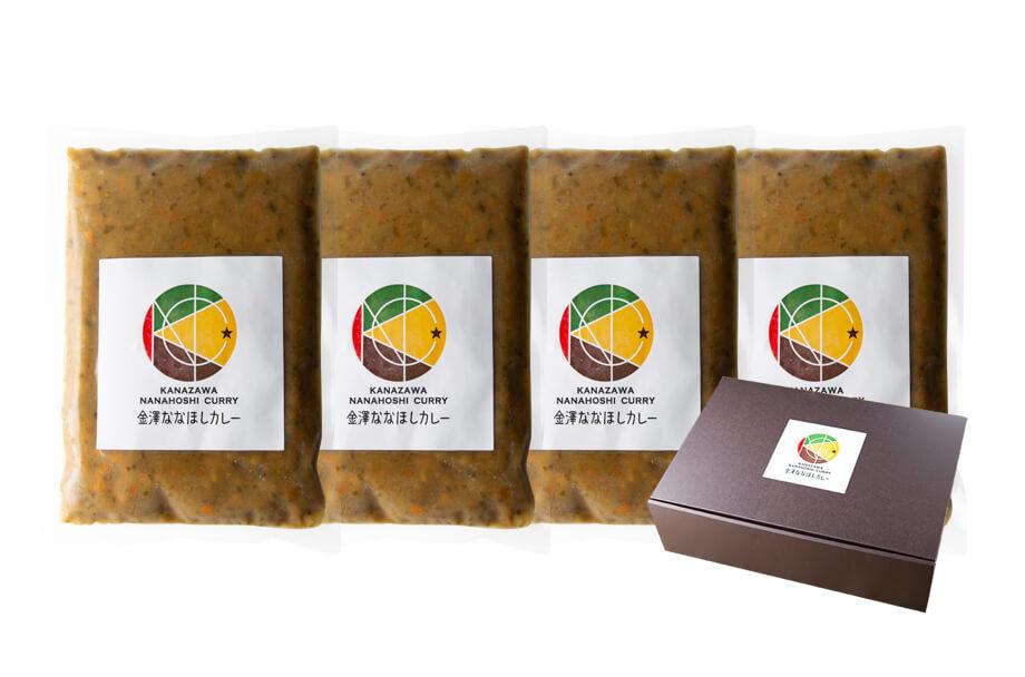 商品パック豆カレー4個セット